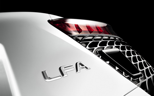 Lexus LFA Rear Light Wallpaper