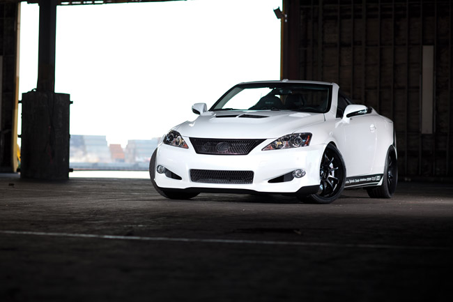 Lexus IS 250C by 0-60 Magazine and Design Craft Fabrication