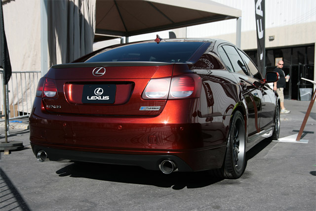 Lexus GS tuned by TRD