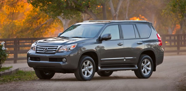 2010 Lexus GX in Knight's Armour