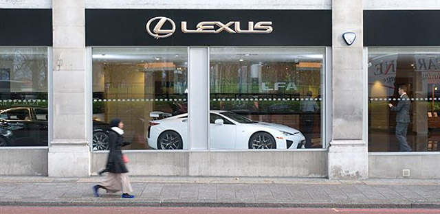 Lexus LFA in London