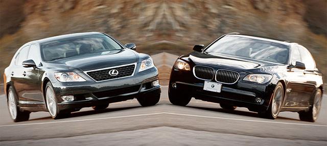Lexus LS 460 Sport vs. BMW 750i Sport
