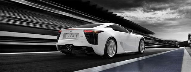 Lexus LFA in The Sunday Times