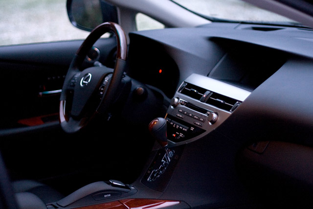 Lexus RX450h Black Interior