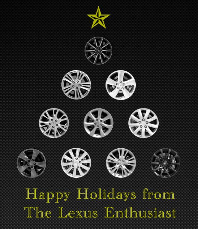 Lexus Christmas Tree