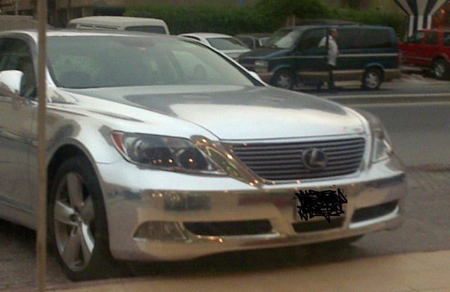 Chromed out Lexus LS 460 3