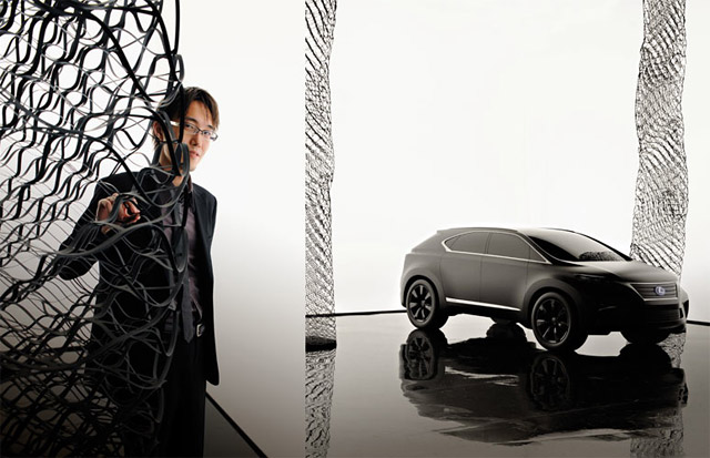 Lexus LF-Xh for Milan Design Week