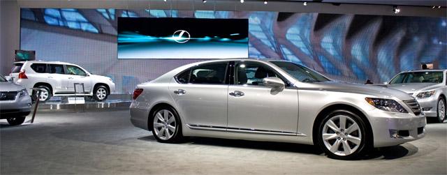 Lexus at NAIAS Detroit