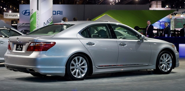 2010 lexus ls 460 with appearance package. Black Bedroom Furniture Sets. Home Design Ideas