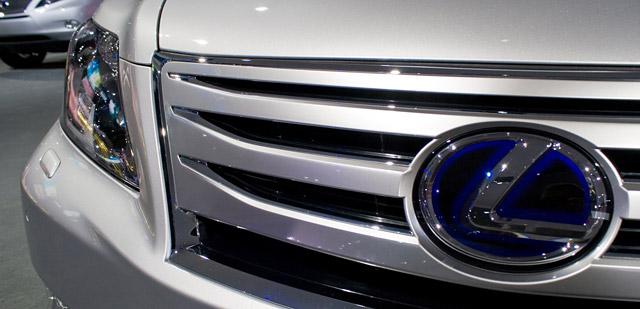 2010 Lexus LS 600hL grille