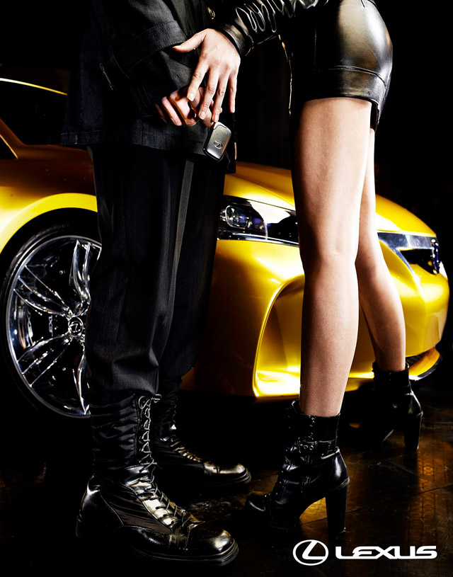 Lexus LF-Ch Fashion Photos