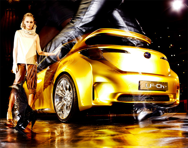 Lexus LF-Ch Fashion photos