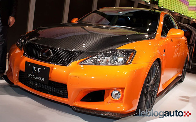 Lexus IS F CCS Concept