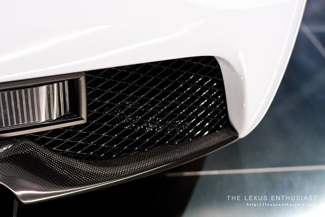 Lexus LFA Carbon detail