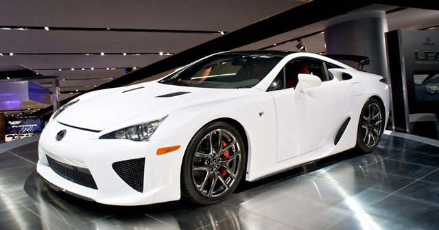 Lexus LFA @ The Detroit Auto Show