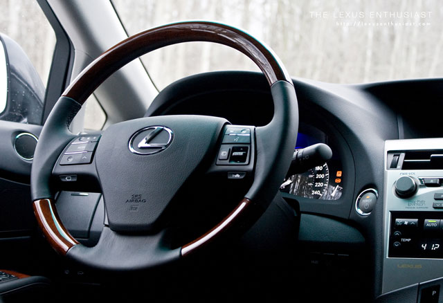 2010 Lexus RX 450h Steering Wheel