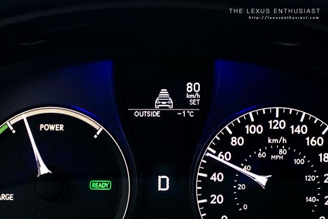 Lexus Radar Cruise Control