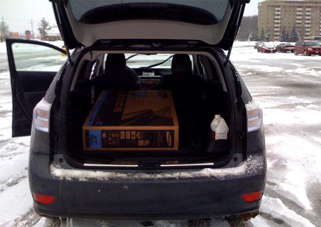 Lexus RX 450h Cargo Room