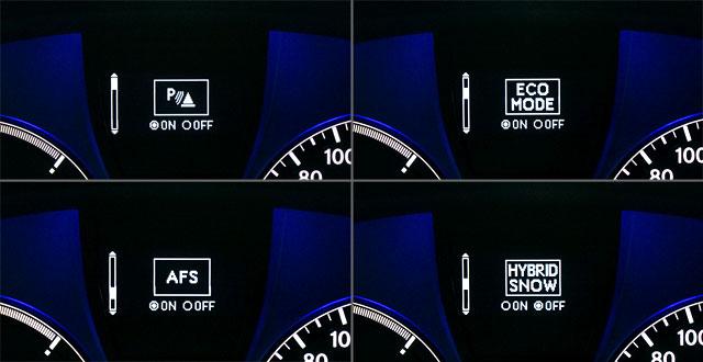 Lexus RX 450h Multi-Information Display