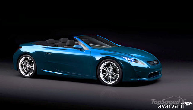 Next Generation Lexus SC 2012