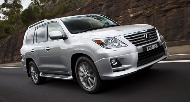 Lexus LX 570 Sports Luxury from Australia