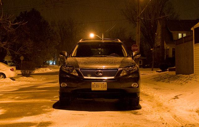 2010 Lexus RX 450h Front LED lights