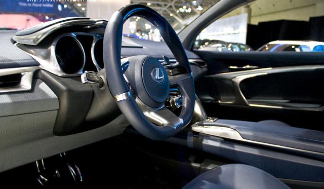Lexus LF-Ch Interior Photos