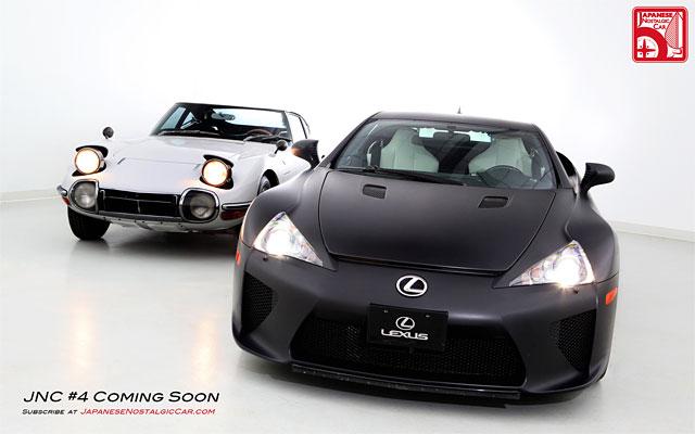 Lexus LFA & Toyota 2000GT