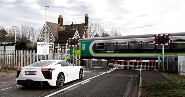 Lexus LFA on UK Roads