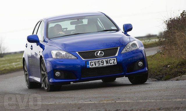 2010 Lexus IS-F tested by Evo