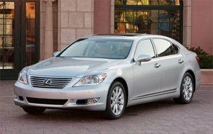 Lexus LS 460 L Top Pick for 2010