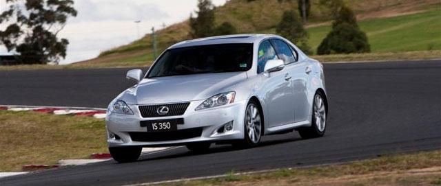 Lexus IS 350 for Australia