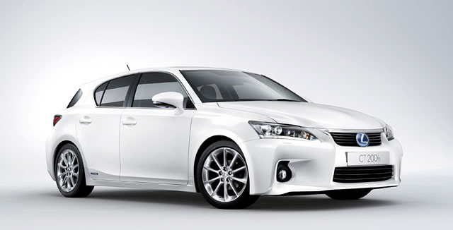 Official Lexus CT 200h Photos