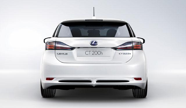 Lexus CT 200h Rear