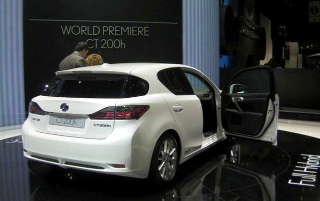 Lexus CT 200h VIP Event