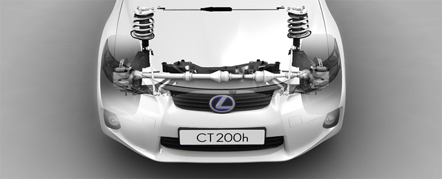 Lexus CTh platform may yield other Lexus models
