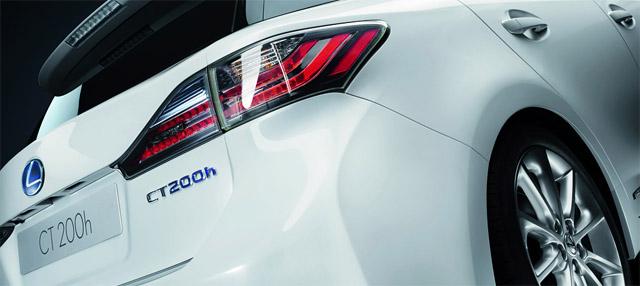 Lexus CT 200h Rear Lights