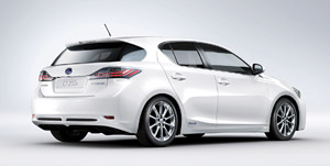 Lexus CT 200h USA Debut