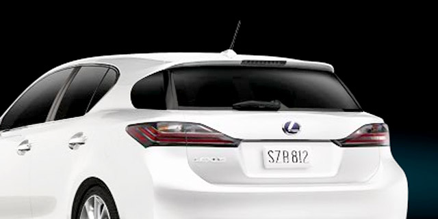 Lexus CT 200h Rear Windshield Wiper
