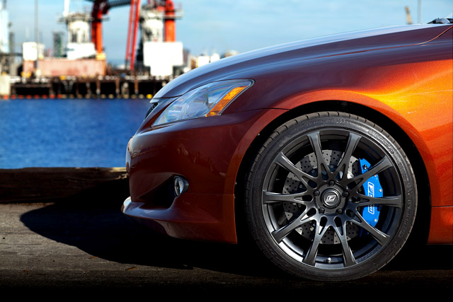 New Lexus F-Sport 19 inch wheels