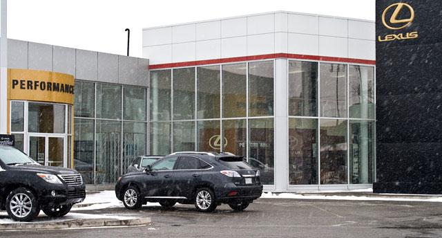 Lexus RX 450h at Performance Lexus