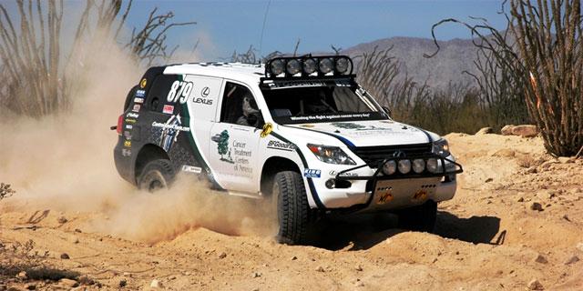 Lexus LX 570 Wins San Felipe 250 Race