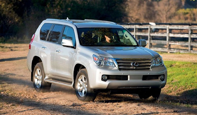 Four Wheeler Lexus GX 460 First Drive