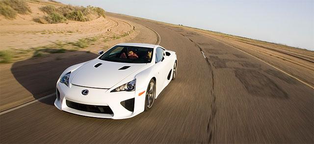 Lexus LFA Photo from Car & Driver