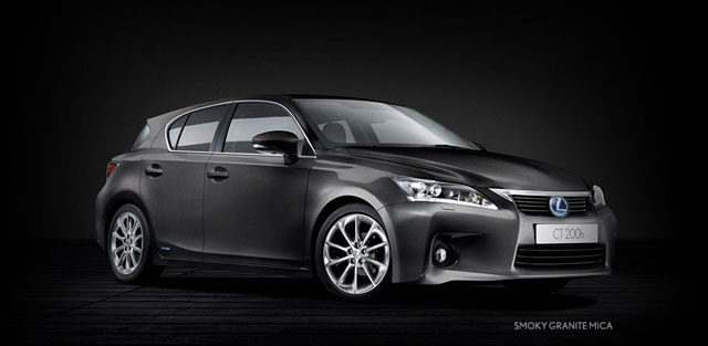 Lexus CT 200h in Smoky Granite Mica