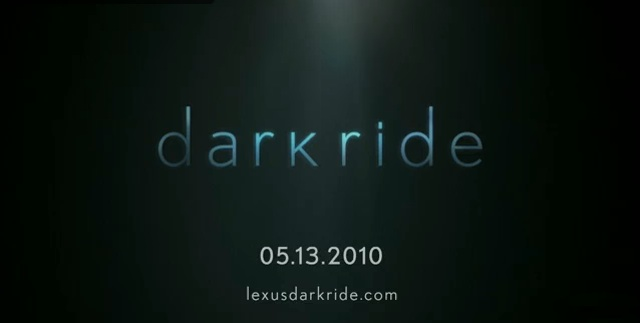 Details of the Lexus CT 200h Dark Ride