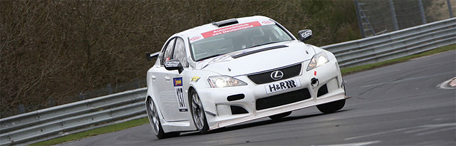 Lexus IS F Race Car for Nürburgring 24 hour race