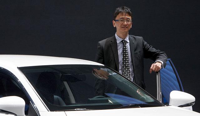 Lexus CT 200h Chief Designer Takeshi Tanabe