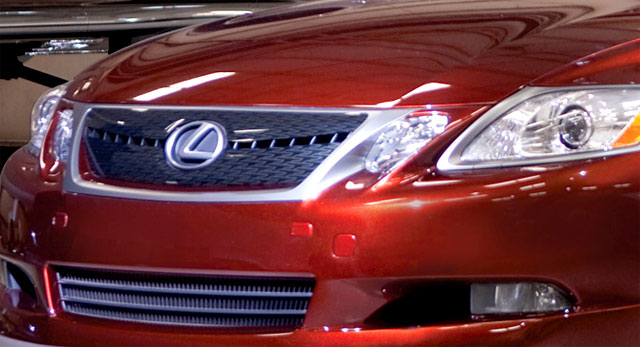 Lexus GS TRD from SEMA Grille