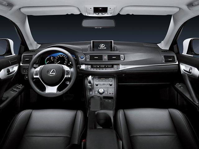 Lexus CT 200h Interior